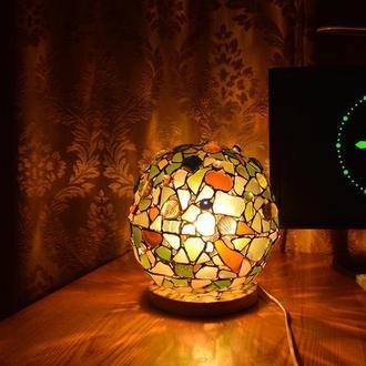 """Сенсорный витражный светодиодный ночник """" Чупачупс"""""""