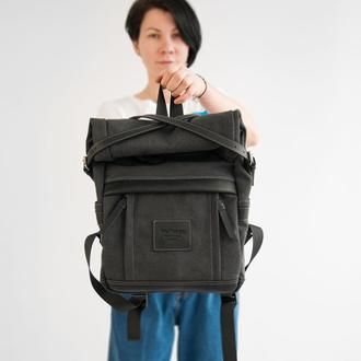 Backpack Crossroad grey (артикул: WR007.2)