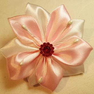 """Резинка для волос """"Pink flower"""""""