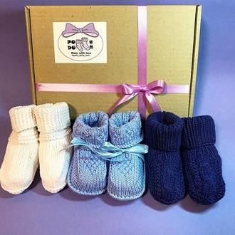 Носочки для малышей 3-9 месяцев