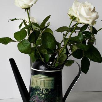 Лейка садовая для полива цветов Seasons of Life «Антикус» оцинкованная