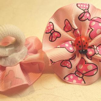 """Резинка для самых маленьких """"Ladybird"""" розовая"""