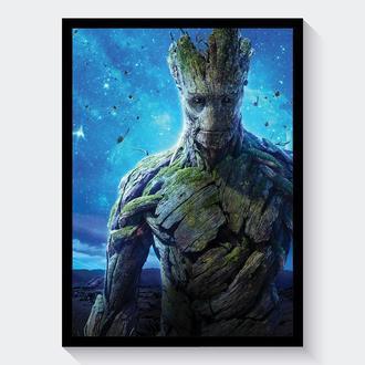Постер Стражи Галактики / Guardians of the Galaxy (Грут / Groot)