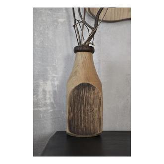 Дубовая ваза для сухоцветов