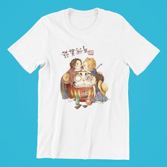 Мужская футболка с принтом аниме №15