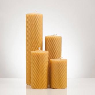 Натуральні свічки з вощини,для дому декору та оригінальних подарунків колегам, друзям і родині