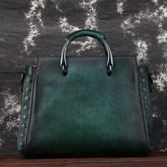 Кожаная женская сумка Мечта