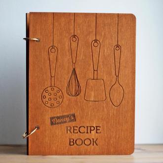 Кулинарная книга для записей на кольцах