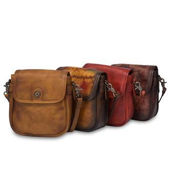 Уникальная сумочка из кожи
