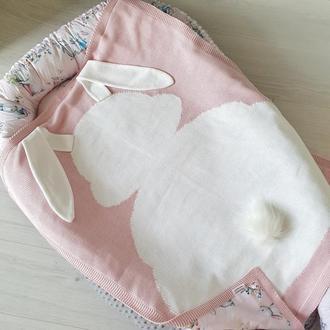 Гнездышко и Плед Rabbit family