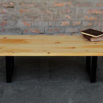 Кофейный стол из натурального масива сосны