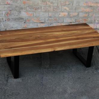 Кофейный стол из натурального масива ореха