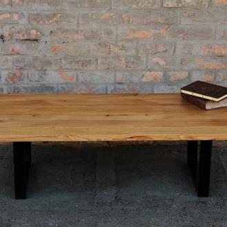 Кофейный стол из натурального масива дуба
