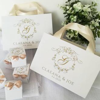 Пакети на весілля для торта або короваю