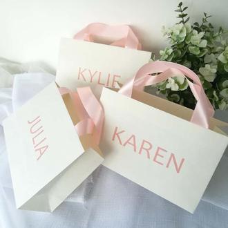Бумажные пакеты на заказ
