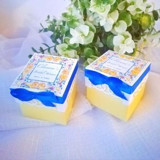 Бонбоньерки для свадьбы в сицилийском стиле