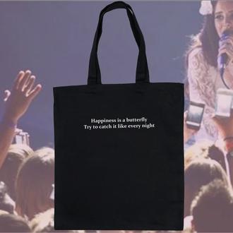 Эко сумка шоппер с песней Ланы дель Рей