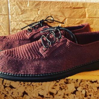 Туфли из итальянской пряжи