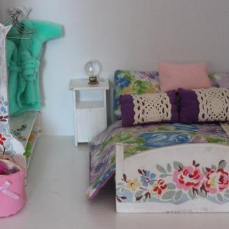 Комплект мебели для кукольного домика (на 3 комнаты)