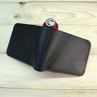 Мужское портмоне с зажимом для купюр