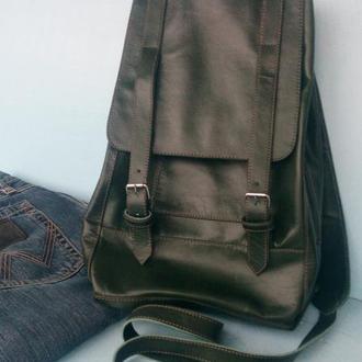 Wrangler кожаный рюкзак, ранец.