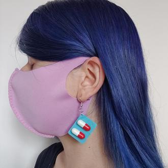Многоразовая стильная Питта-маска