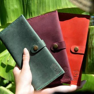Кожаный кошелек. Travelwallet 2.0