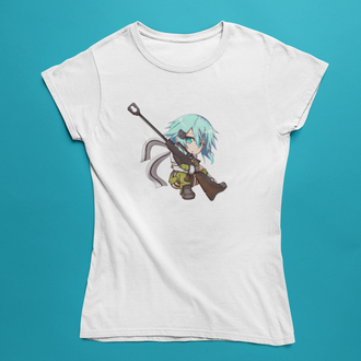 Женская футболка с принтом Аниме №10