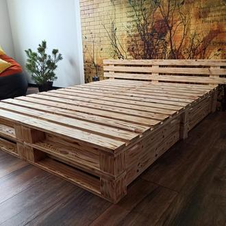 Кровать, кровать из паллет