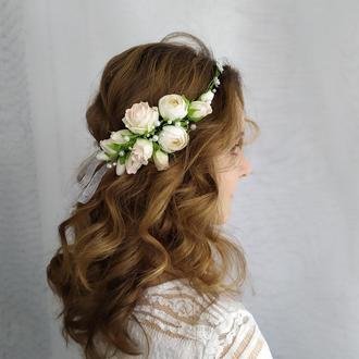 Свадебный венок, Аксессуары для волос, Венок на свадьбу