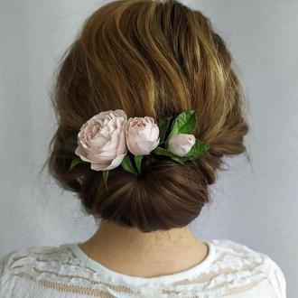 3 Шпильки троянди, Квіти, Аксесуари для волосся