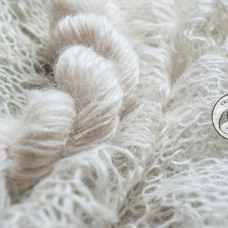 Пряжа из пуха ангорской козы