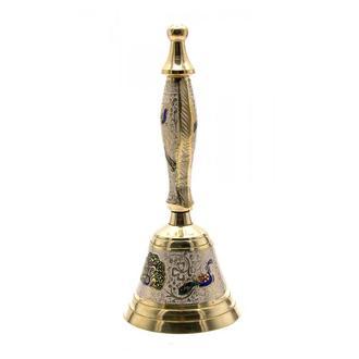 Колокольчик ручной бронзовый 25806