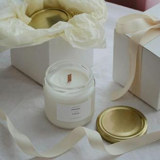 Соевые арома свечи