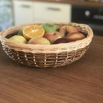 Корзинка-ваза  плетёная