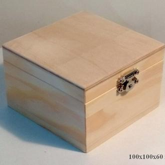 Шкатулка деревянная - заготовка для декора