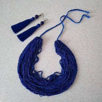 "Ожерелье ""синева"""