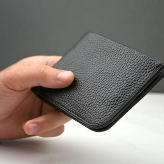 Кожаное мужское портмоне, мужской кожаный кошелек, портмоне подарок мужчине, мужской кошелек