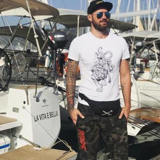 Мужская футболка BONNIE & TIGER