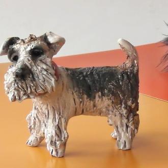 Терьер Статуэтка подарок любителю собак