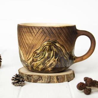 Чашка с горами. 400 мл