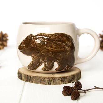 Чашка с медведем 400 мл