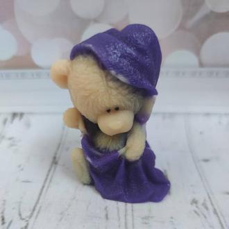 Мыло Тедди в полотенце.