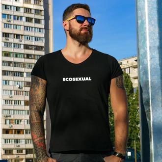 Унисекс футболка ECOSEXUAL