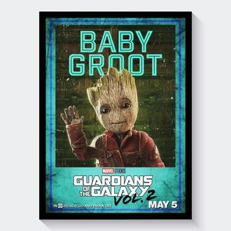 Постер Стражи Галактики / Guardians of the Galaxy (Грут | Groot)