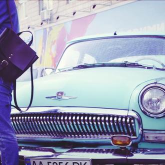 """Кожаный рюкзачек """"Фирменный"""""""