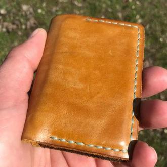 Кожаный кошелек (кардхолдер)