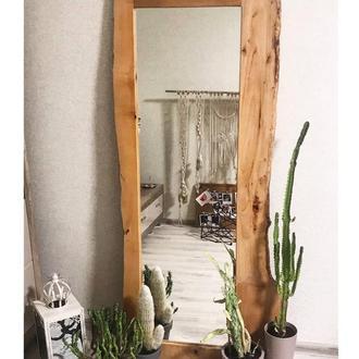 Зеркало с живым краем