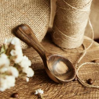 Деревянная мерная ложка. Уникальный подарок
