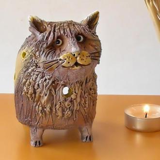 Аромалампа в виде кота Подарок любителю котов